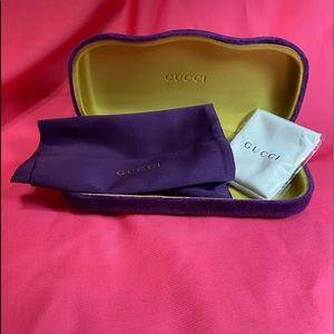 Gucci eyewear case